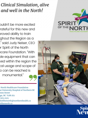 Clinical Simulation Alive and Well in the North!