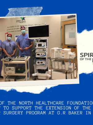 G.R. Baker Enhanced Shoulder Surgery Equipment