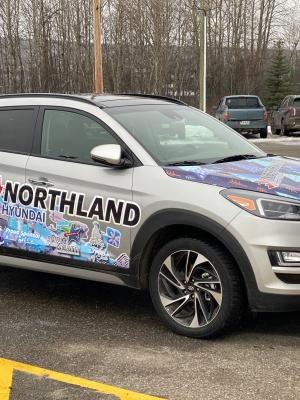 Northland Hyundai Supports Festival with Transportation Once Again
