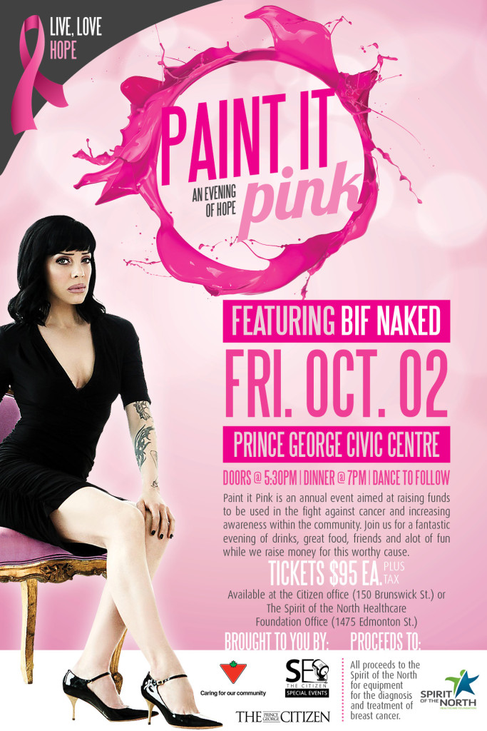 Join us to Paint it Pink on Oct 2
